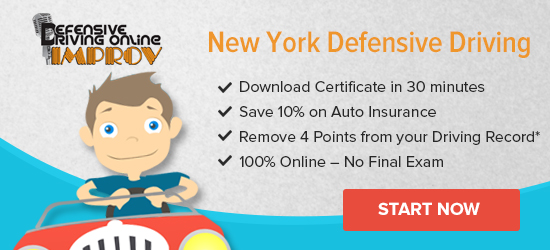 New York defensive driving courses provide drivers both the knowledge and proper techniques to learn safe driving habits. Residents may take a driver improvement class at a state-approved traffic school to reduce the number of demerit points on a NY driving record, .