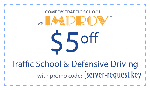 Promo Code for Traffic School and Defensive Driving