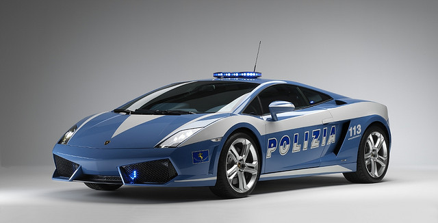 Fastest Cars the Cops Of the World Are Driving