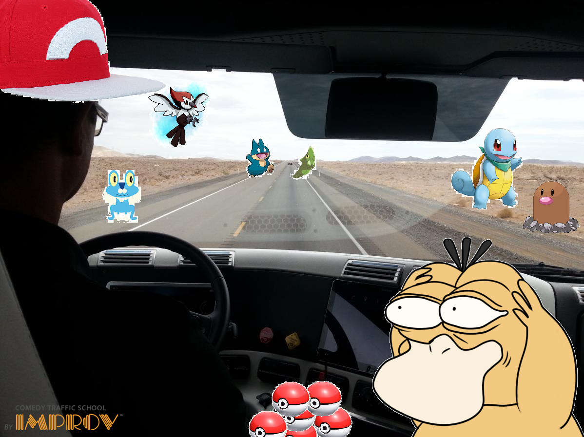 Pokemon Go Road