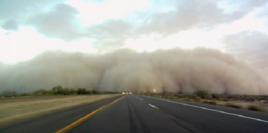 dust storm az traffic school