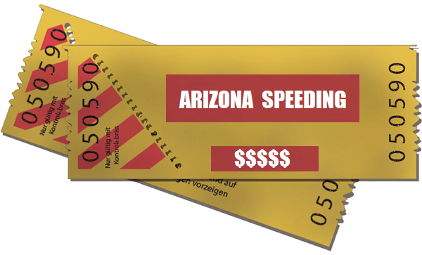 Speeding Ticket Cost in Arizona | AZ Speeding Ticket Cost