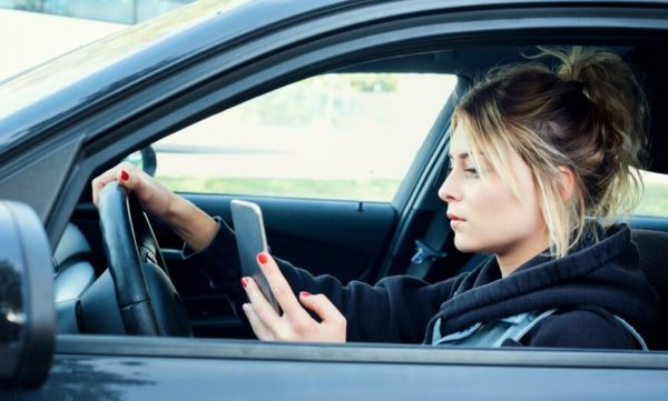 california drivers ed texting while driving