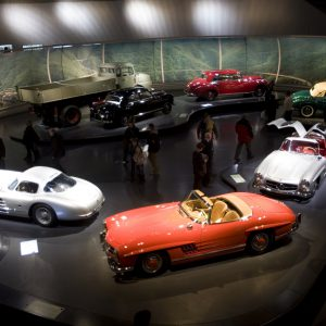 Five great car museums that are worth the drive.
