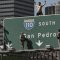 Man Climbs 110 Freeway Sign and Other CA Traffic Stories